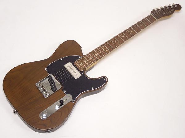 Vanzandt TLV-P90 Flame Neck LTD STD / Mat Brown / Rosewood FingerBoard #7951