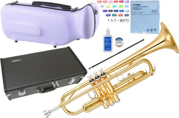YAMAHA ( ヤマハ ) 送料無料 YTR-2330 ゴールド トランペット 新品 日本製 スタンダード 管楽器 初心者 楽器 本体 ケース 追加 セット 【 YTR2330 GL-TRUMPET 】