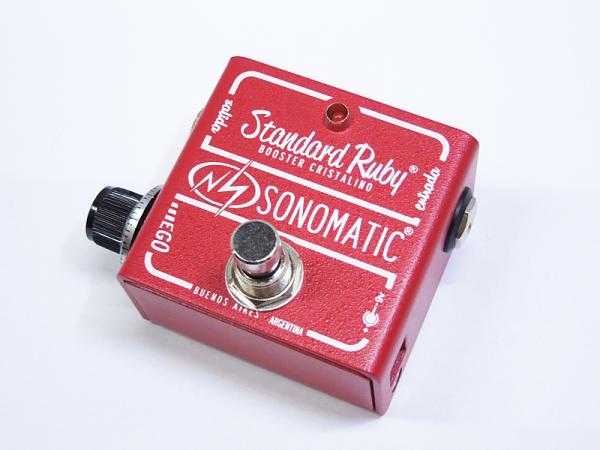 Sonomatic ( ソノマティック ) Standard Ruby Booster【ブースター ギター・ベース・エフェクター  特価  WO】