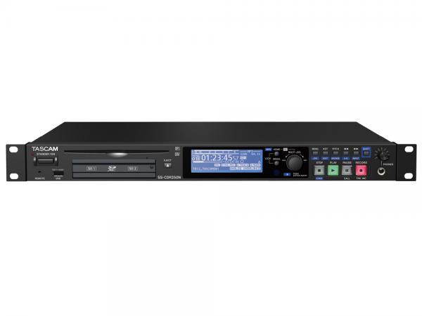 TASCAM ( タスカム ) SS-CDR250N  ◆ ソリッドステート / CDステレオオーディオレコーダー  ・CD/SDHC/SDXC/USBメモリー対応
