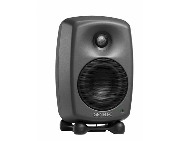 GENELEC ( ジェネレック ) 8020 DPM (1本) ◆ モニタースピーカー ( パワード ) ダークグレー
