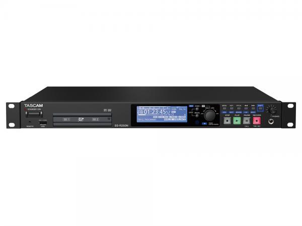 TASCAM ( タスカム ) SS-R250N  ◆ ソリッドステートステレオオーディオレコーダー  ・SDHC/SDXC/USBメモリー対応