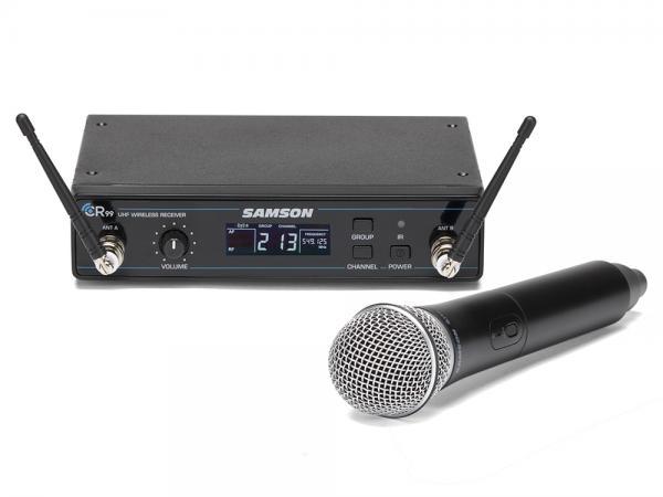 SAMSON ( サムソン ) Concert 99 Handheld ◆ ハンドヘルドマイク ワイヤレスマイクシステム for ボーカル スピーチ ステージ ライブ 設備 コンサート ESWC99HQ8J-B