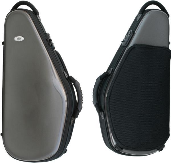 bags ( バッグス ) EFAS-M-GREY アルトサックスケース メタリック グレー ハードケース リュック EVOLUTION alto saxophone case 北海道 沖縄 離島 不可