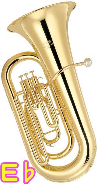 YAMAHA ( ヤマハ ) YEB-201 新品 E♭ チューバ 3ピストン 日本製 ゴールド トップアクション ピストンチューバ 管楽器 アップライト式 tuba 北海道 沖縄 離島不可