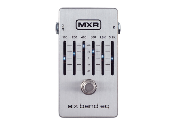MXR ( エムエックスアール ) M109S Six Band Graphic EQ【6バンド グラフィック・イコライザー WO 】