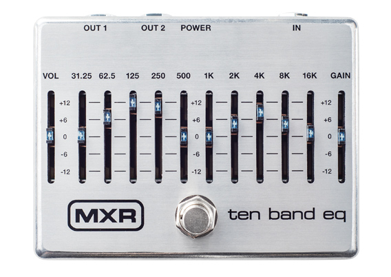 MXR ( エムエックスアール ) M108S 10 Band Graphic EQ【10バンド グラフィックイコライザー  WO 】