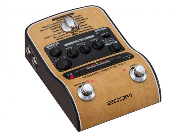 ZOOM ( ズーム ) AC-2 Acoustic Creator 【アコースティックギター プリアンプ 】