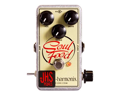 "JHS Pedals Electro-Harmonix Soul Food ""Meat & 3"" Mod【エレハモ オーバードライブ モディファイ 】"