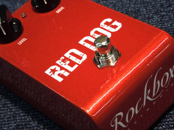 Rockbox Electronics Red Dog【オーバードライブ・ブースター WO】