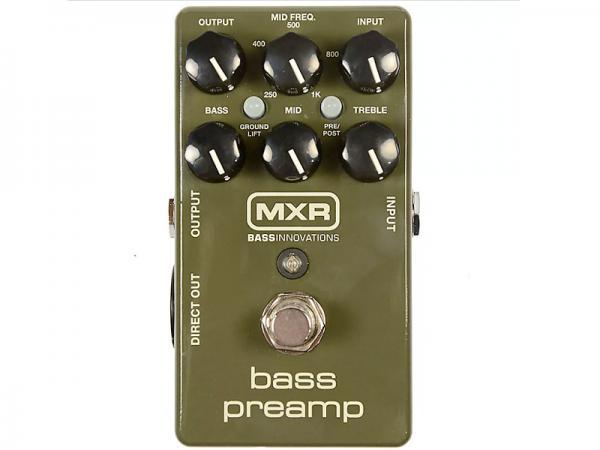 MXR ( エムエックスアール ) M81 Bass Preamp【ベース プリアンプ  】