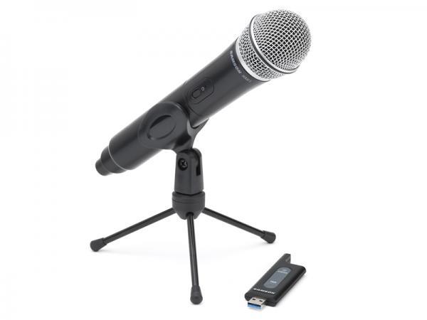 SAMSON ( サムソン ) Stage X1U ◆ 2.4GHz USB デジタルワイヤレスシステム ハンドヘルドマイクロフォン for ボーカル スピーチ