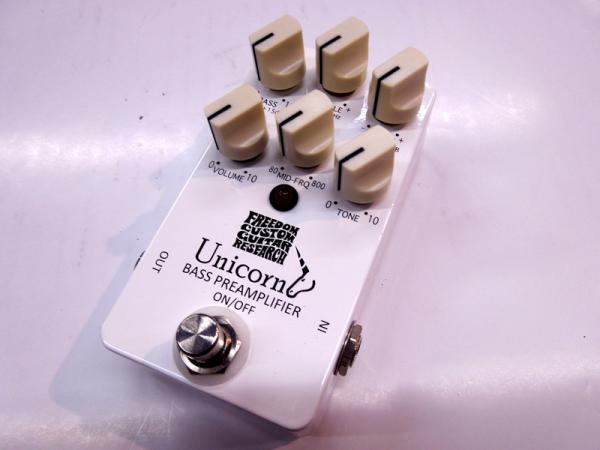 Freedom Custom Guitar Research Unicorn Bass Preamplifier 【ユニコーン ベース・プリアンプ 】