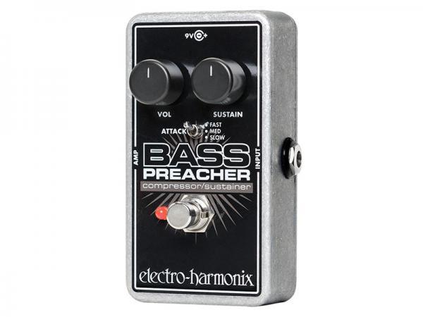Electro Harmonix ( エレクトロハーモニクス ) Bass Preacher【ベース コンプレッサー  】