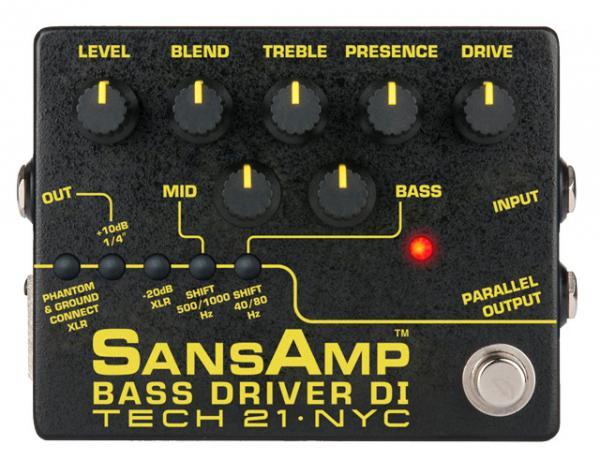 Tech21 ( テック21 ) SansAmp BASS DRIVER DI Ver.II 【サンズアンプ ベースドライバー  WK  】