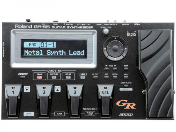 Roland ( ローランド ) GR-55S/BK 【ギターシンセサイザー 】
