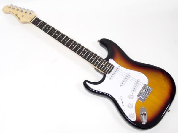 Bacchus ( バッカス ) BST-1R-LH(3TS)【左用 レフトハンド  エレキギター アウトレット 特価品 】