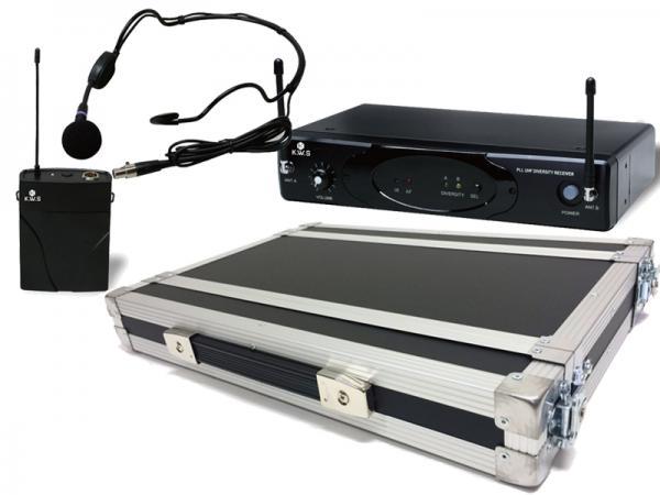 K.W.S ( by キクタニミュージック ) KWS-899P/HM-38 + H1Uラックケースセット (PULSE)  ◆ ヘッドセットマイクワイヤレスマイクシステム の安全な持ち出しと簡単設置に!