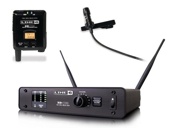 LINE6 ( ラインシックス ) XD-V55L [ OUTLET 特価品 ]【在庫限り】◆ 2.4GHz帯デジタルワイヤレスマイクシステム ラベリアマイク