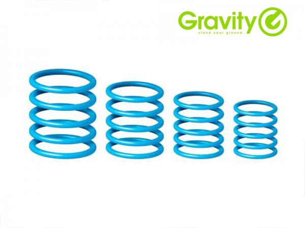 Gravity ( グラビティー ) GRP5555 BLU1 スカイブルー (Deep Sky Blue) ◆ Gravityスタンド用 ユニバーサルリングパック スカイブルー