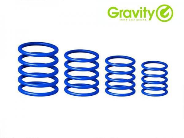 Gravity ( グラビティー ) GRP5555 BLU2 シーブルー  (Deep Sea Blue ) ◆ Gravityスタンド用 ユニバーサルリングパック ディープシーブルー