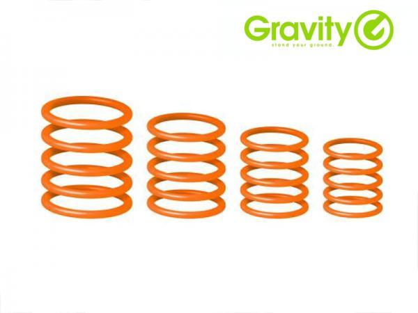 Gravity ( グラビティー ) GRP5555 ORG1 オレンジ (Electric Orange) ◆ Gravityスタンド用 ユニバーサルリングパック エレクトリックオレンジ