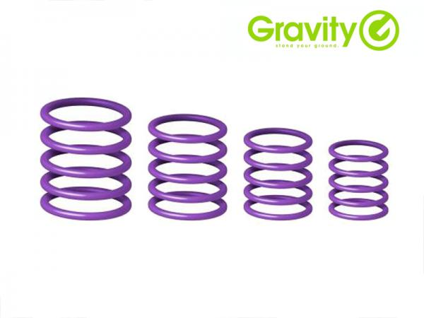 Gravity ( グラビティー ) GRP5555 PPL1 パープル (Power Purple) ◆ Gravityスタンド用 ユニバーサルリングパック パワーパープル