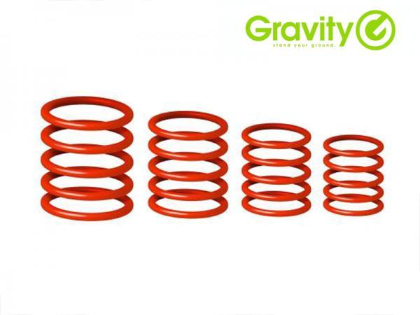 Gravity ( グラビティー ) GRP5555 RED1 レッド (Lust Red) ◆ Gravityスタンド用 ユニバーサルリングパック レッド
