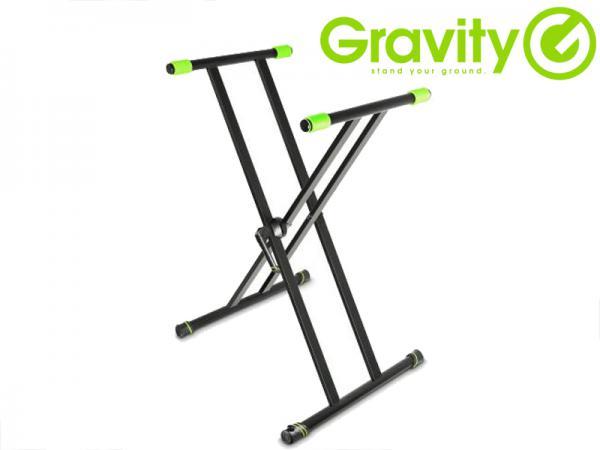 Gravity ( グラビティー ) GKSX2 ◆ ダブルX型 キーボードスタンド