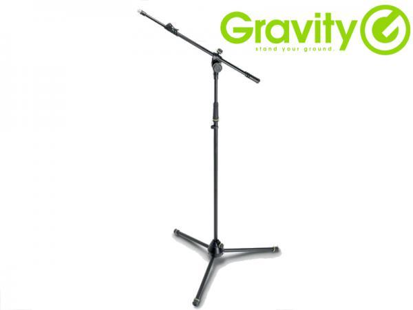 Gravity ( グラビティー ) GMS4322B ◆ 三脚タイプ 2段式 ブームマイクスタンド