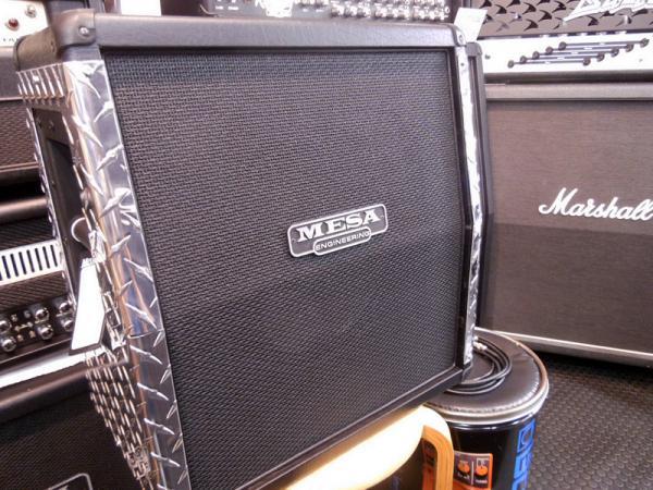 Mesa Boogie ( メサ・ブギー ) 1x12 Mini Recto Slant Side ARMOR Cabinet Polished Chrome