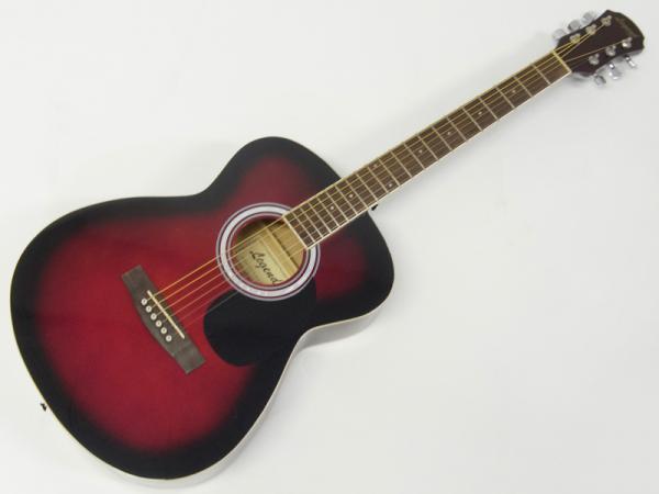 Legend ( レジェンド ) FG-15 (RS) AGスタートパック10点セット【初心者 入門 教則本 チューナー付 アコースティックギター SET】