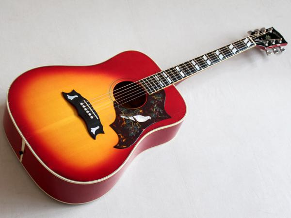 Gibson ( ギブソン ) Dove Custom Cherry Sunburst 1974年製