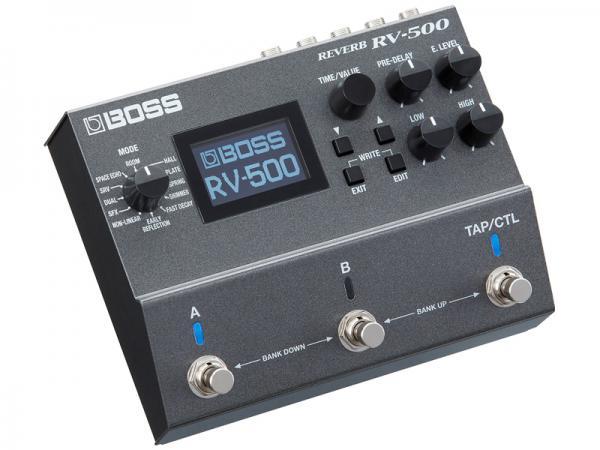 BOSS ( ボス ) RV-500【2モード、21タイプのリバーブを搭載  WK】