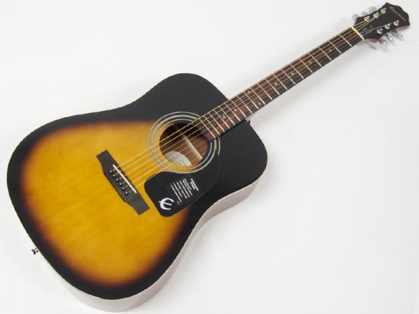 Epiphone ( エピフォン ) DR-100(VS) AGスタートパック10点セット【初心者 入門 アコースティックギター セット】