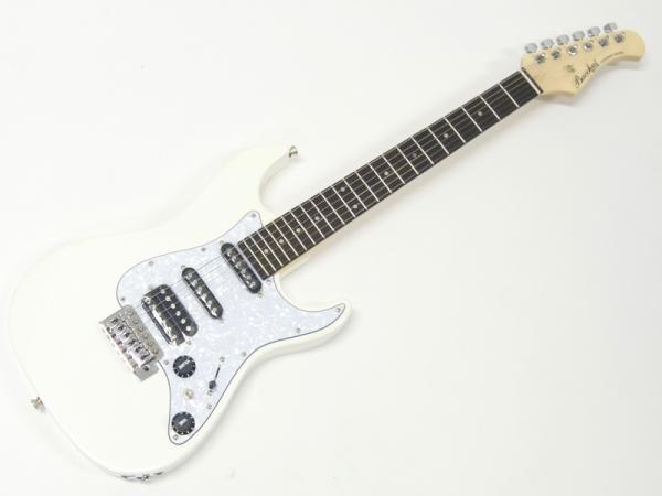 Bacchus ( バッカス ) GS-Mini(WH) エレキギタースタートパック15点セット【  ミニ エレキギター アウトレット 初心者 入門 セット 】