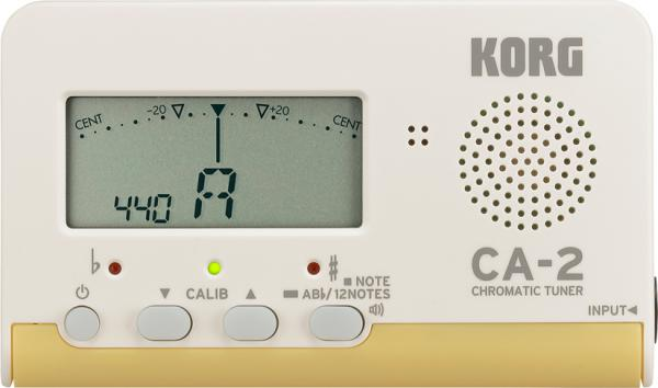 KORG ( コルグ ) CA-2 クロマチックチューナー カード型 コンパクト チューナー 管楽器 chromatic tuner