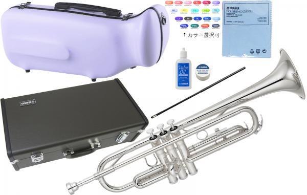 YAMAHA ( ヤマハ ) 日本製分 YTR-2330S トランペット 新品 銀メッキ 正規品 管楽器 初心者 B♭ Trumpet silver 本体 スタンダード 【 YTR2330S セット A】