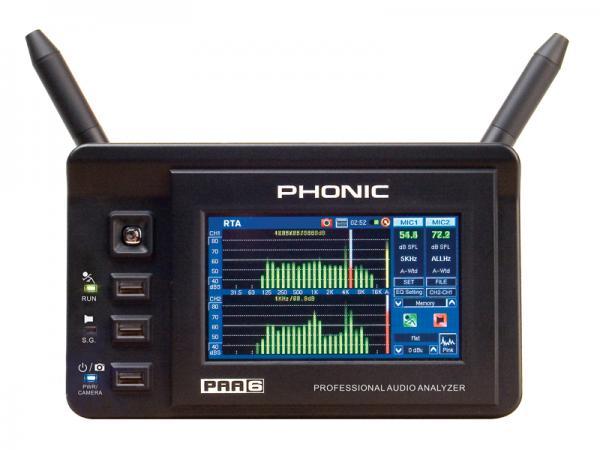 PHONIC digital ( フォニック デジタル ) PAA6 ◆ 高精度 ハンドヘルド デジタル2ch オーディオアナライザー