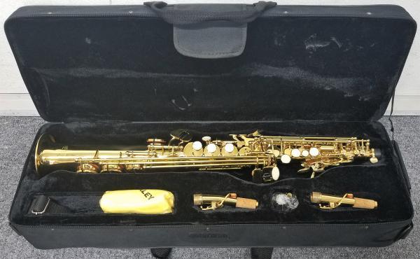SAVALEY ( サバレイ ) ソプラノサックス 新品 アウトレット SSP-200 ストレート ソプラノ サックス ゴールド 管楽器 B♭ 本体 ソプラノサクソフォン