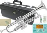 J Michael ( Jマイケル ) TR-300S ジブリで吹く トランペット B♭ 銀メッキ 管楽器 本体 シルバー カラー Bb Trumpet スタジオジブリ セット 北海道 沖縄 離島不可