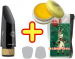 SELMER ( セルマー ) B♭クラリネット用マウスピース コンセプト スタンダード 樹脂製 管楽器 クラリネット マウスピース 【 Concept マカロン イエロー セット 】
