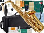 YAMAHA ( ヤマハ ) 日本製分 YAS-380 アルトサックス 新品  管楽器 サックス 管体 ゴールド 初心者 管楽器 アルトサクソフォン 楽器 【 YAS380 セット B 】