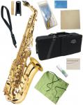 J Michael ( Jマイケル ) AL-500 アルトサックス 新品 + ヤマハマウスピース 管楽器 E♭ 本体 管体 ゴールド 初心者 サックス 【 AL500 セット C 】