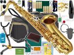 YAMAHA ( ヤマハ ) YTS-62 テナーサックス 新品 日本製 管楽器 サックス 管体 ゴールド 初心者 テナーサクソフォン 正規品 YTS-62-02 【 YTS62 セット C】