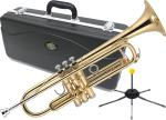 J Michael ( Jマイケル ) TR-200 トランペット 新品 アウトレット 管楽器 ゴールド 本体 B♭ Trumpet gold ミュート セット H 北海道不可 沖縄不可 離島不可