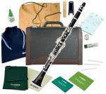 MAXTONE ( マックストーン ) CL-50 クラリネット 木製 新品 スタンダード B♭ ベーム式 管体 エボニー 初心者 管楽器 本体 ケース clarinet 【 CL50 セット D】