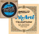 D'Addario ( ダダリオ ) クラシックギター弦 EJ46 アウトレット プロアルテ ハードテンション 1セット 6本 1弦 0285 - 6弦 044 ガット弦 ナイロン ギター弦 EJ-46