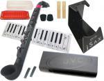 NUVO ( ヌーボ ) jSAX ブラック ピンク N510JBPK N520 プラスチック製 管楽器 サックス系 リード楽器 本体 サクソフォン 黒色 Pink 【 jサックス BK/PK セット H】