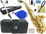 J Michael ( Jマイケル ) SPC-700 カーブドソプラノサックス 新品 管楽器 本体 初心者 ソプラノサックス 管体 ゴールド soprano saxophone  SPC700 セット B